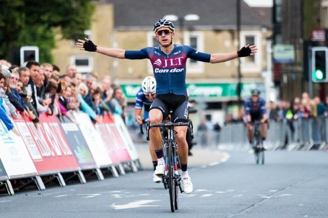 2017 winner of Skipton Cycle Races, Jon Mould Picture: Craven District Council