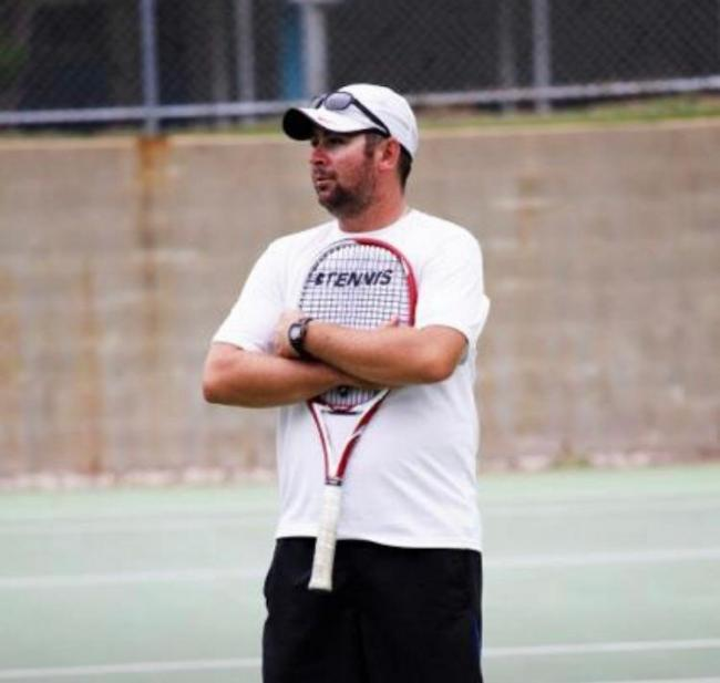 Top tennis coach Jamie Kirkman is coming to Skipton Tennis Centre