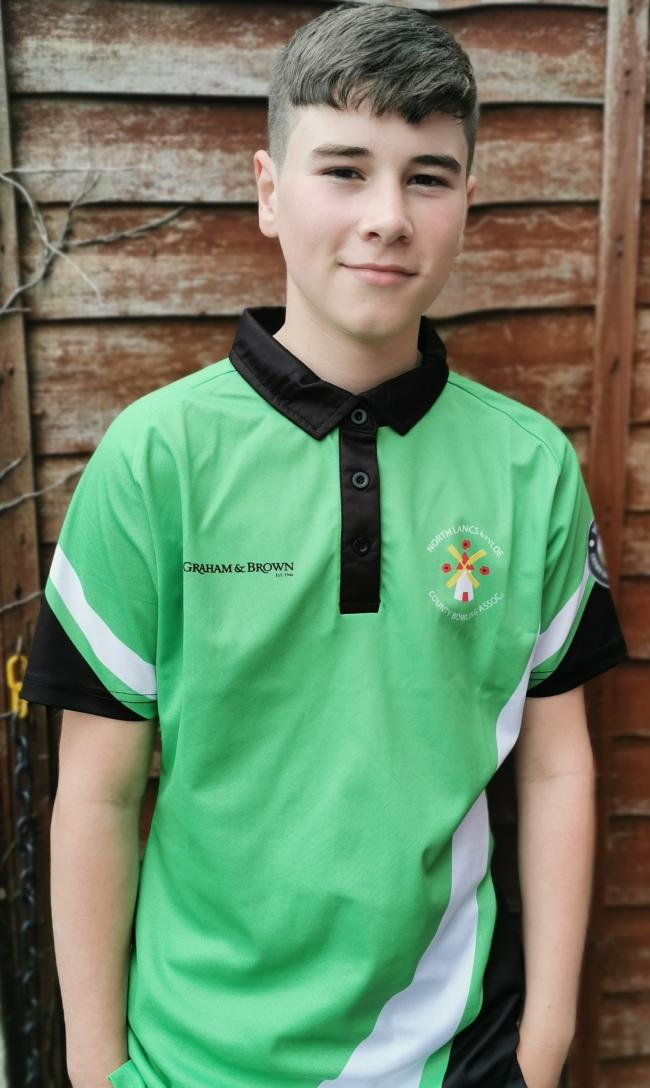 Skipton's Harry Spriggs, 15, has been picked to play a county crown green bowling team