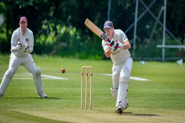 Skipton captain Gary Owens would have been furious with his side's batting performance against Harden Picture: Andy Garbutt.