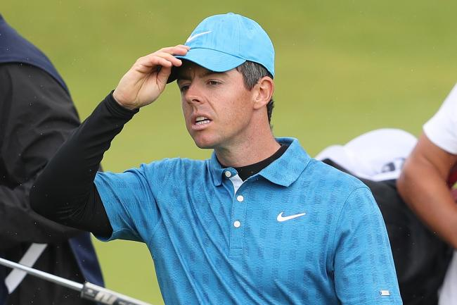 Rory McIlroy had a nightmare start to the 148th Open