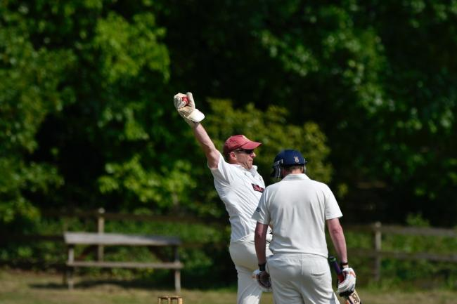 Chris Hemsley appeals from behind the wicket for Bingley Congs Picture: Andy Garbutt