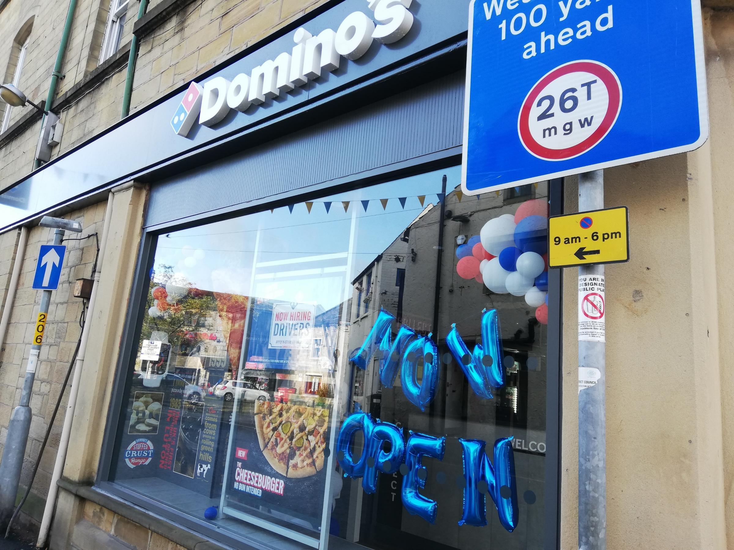Dominos Opens New Branch In Skipton Craven Herald