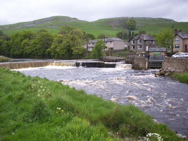 Bridge End weir and Settle Hydro