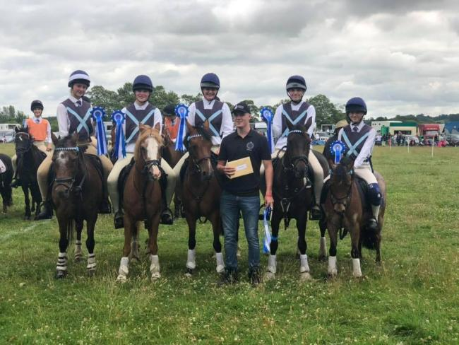 Pendle Forest and Craven pony club team off to the Horse of the Year show
