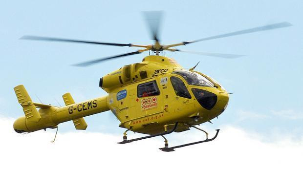 The Yorkshire Air Ambulance. File photo