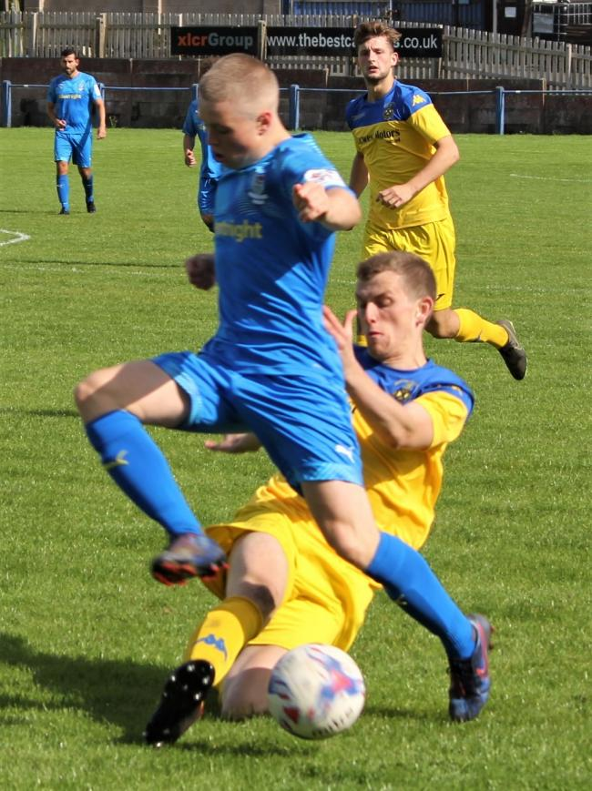 Ethan Kershaw has left Barnoldswick to sign for Longridge Town. Picture: Peter Naylor