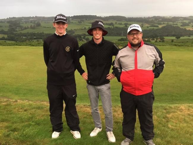 The Skipton Golf Club scratch team of Harry Ayrton, Max Berrisford and Chris Payne won their final to secure their place in the tof flight