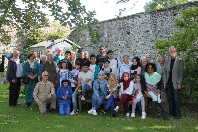 Settle refugee support group hosts Pendle visit | Craven Herald