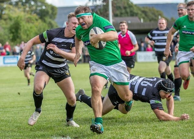 After South Africa's win over England in the World Cup final on Saturday, Matt Speres, who has South African roots, went on to have a good game for Wharfedale against Stourbridge. Picture: Ro Burridge