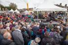 Crowds at Skipton Puppet Festival, picture by Nik Palmer/Skipton Puppet Festival