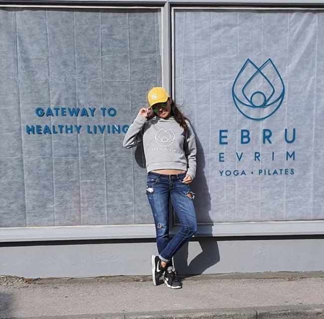 Ebru Evrim outside her new Skipton business