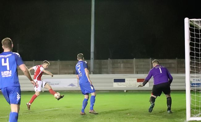 Asa Mitchell gave Thackley the lead   Picture: Alex Daniel Photography
