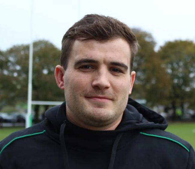Max Mountain scored the first try for the Wharfedale Foresters