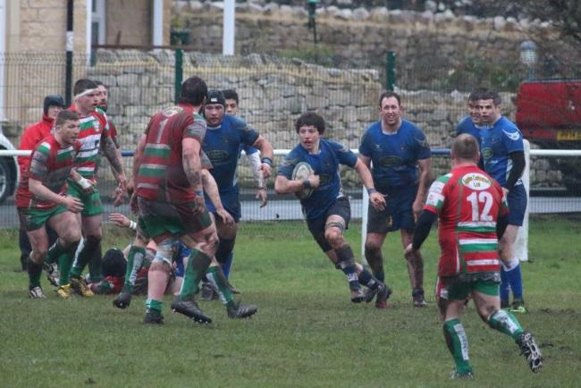 North Ribblesdale flanker John Padley spent time in the sin ban. Picture: Amelia Blackwell