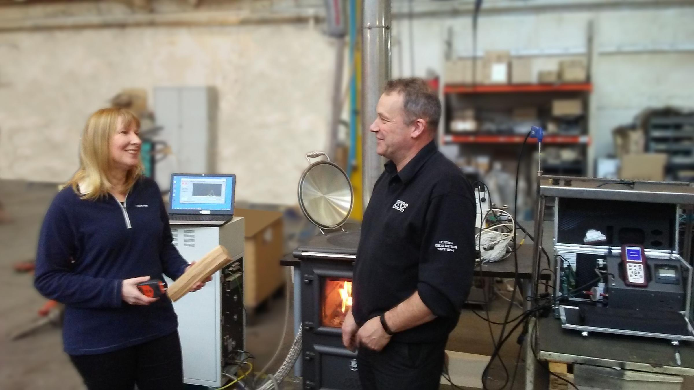 Barnoldswick based stove maker gets scientific over new air quality ...