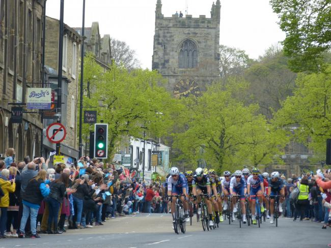 Skipton chosen to be a host location for next year's Tour de Yorkshire, picture SWPix.com