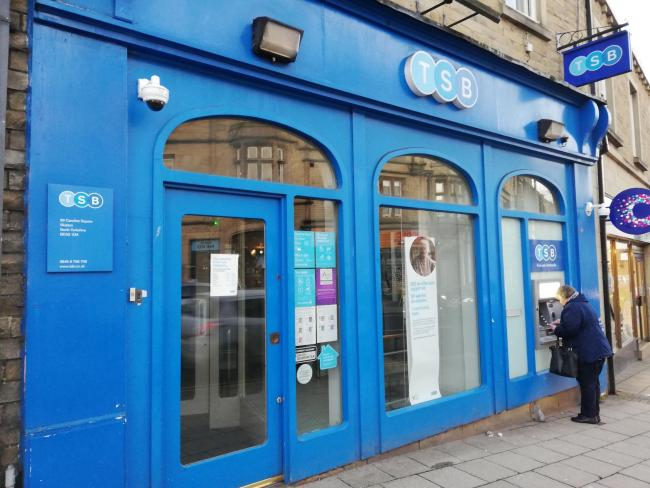 TSB in Skipton to close