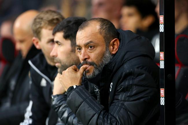 Wolves manager Nuno Espirito Santo is unhappy with the schedule