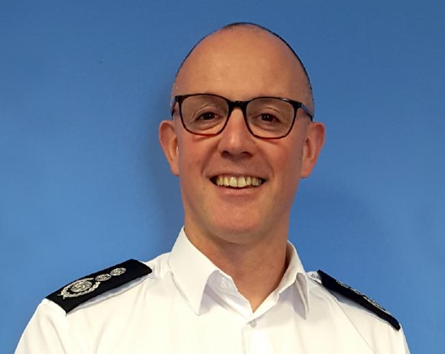 Chief Fire Officer Andrew Brodie