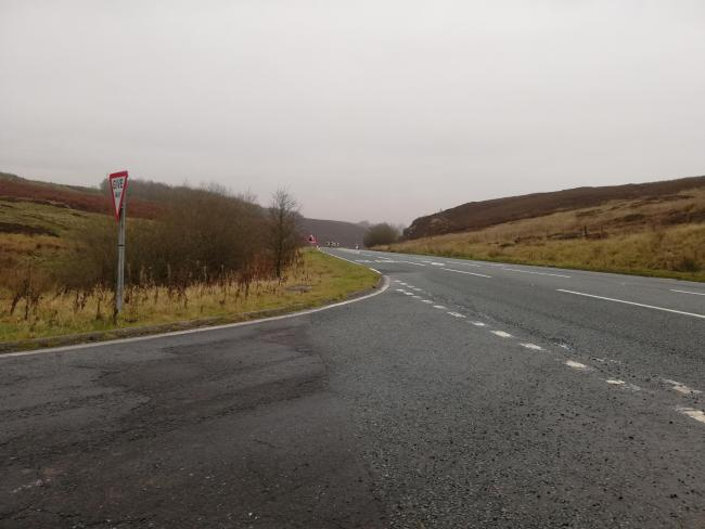 The A59 Kex Gill, due to be realigned