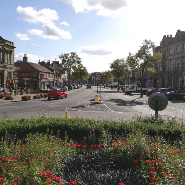 Skipton High Street, set to receive government funding