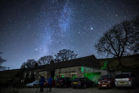 MIlky Way over Broadrake. Picture: Pete Collins