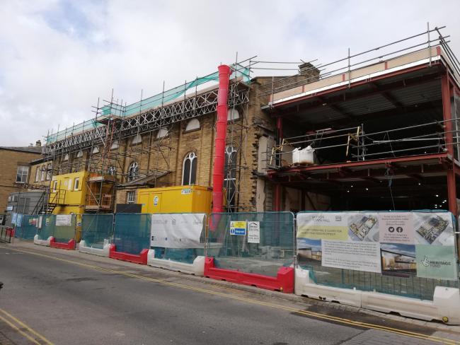 Skipton Town Hall redevelopment, central to Craven's future recovery