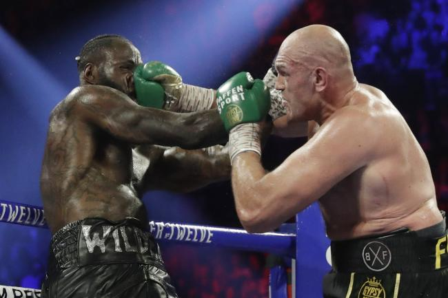 Tyson Fury and Deontay Wilder went toe to toe in Las Vegas