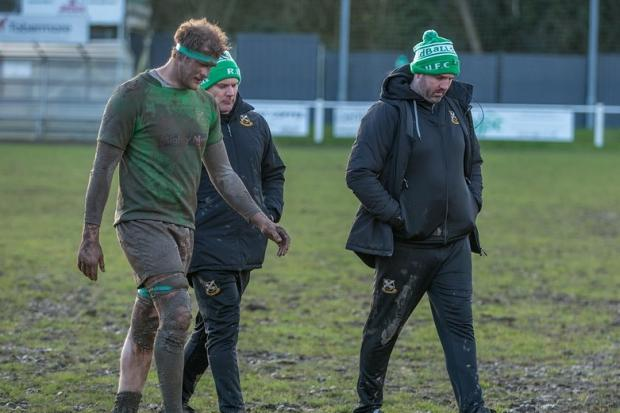 Wharfedale head coach Jon Feeley (right) thinks we will not see rugby back until 2021. Picture Ro Burridge