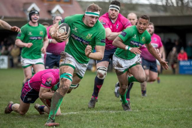 Wharfedale were one of a short list of teams who fulfilled their fixture, beating Stourbridge Picture Ro Burridge