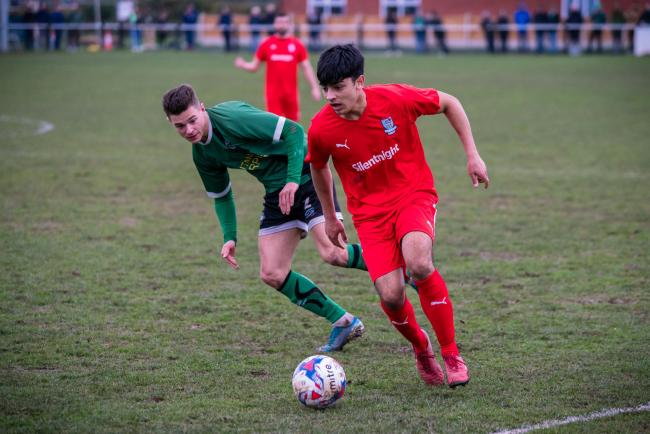 Matthew Cavanagh had helped Barnoldswick Town to 16th place this season before the season was voided Picture Karen Clark
