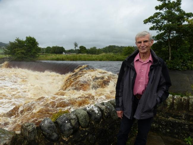 Sandy Tod at Settle Hydro
