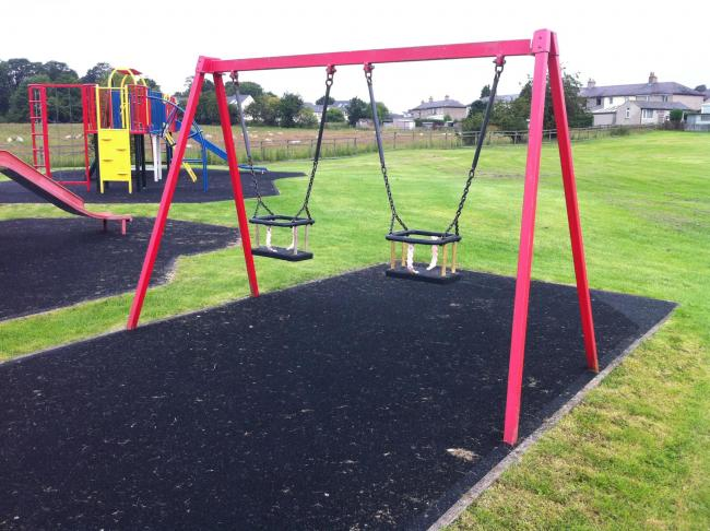 Burnside play area, Skipton, is being closed temporarily to try and stop spread of coronavirus