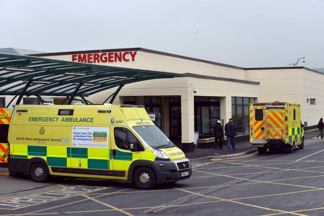The new opening of the A&E department at Airedale hospital.