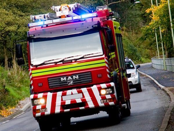 North Yorkshire Fire and Rescue Service assisted an elderly person in Threshfield on Sunday