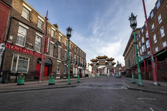 China Town in Liverpool