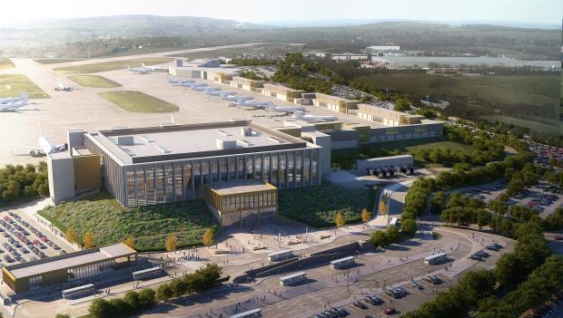 How the new terminal at Leeds Bradford Airport could look