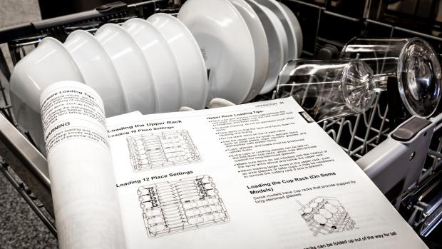 Craven Herald: Find your dishwasher's user manual, and use it. Yeah, it's not a compelling read, but it will show you the best ways to load. And if anything ever goes wrong, the manual will help you troubleshoot. Credit: Reviewed / Jonathan Chan