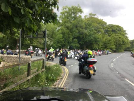 Bikers at Kirkby Lonsdale