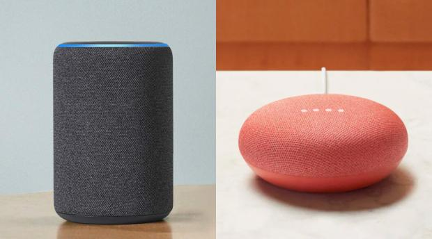 Craven Herald: A smart speaker acts as a central hub to control your smart home devices. Credit: Amazon / Google