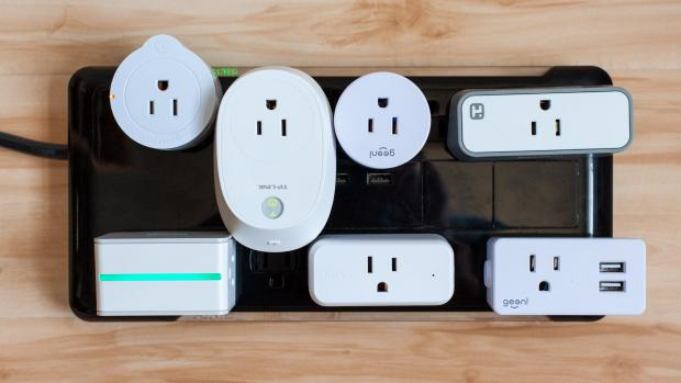Craven Herald: These compact devices plug into traditional plug sockets, upgrading them to smart home devices with remote control, scheduling, and power usage monitoring via smartphone apps. Credit: Reviewed / Ben Keough