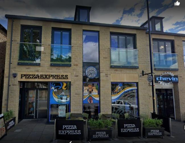 Pizza Express, Skipton high street. Pic Google Maps