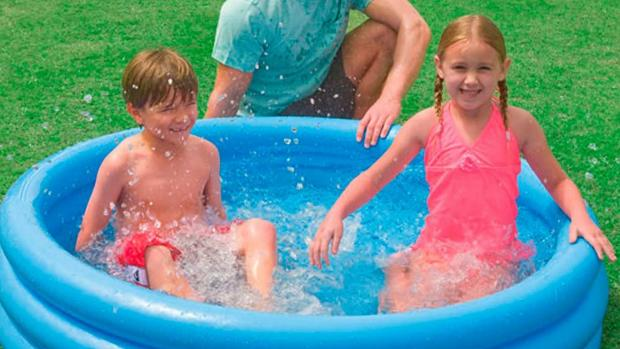 Craven Herald: Lower your body temp with this inflatable pool. Credit: Intex