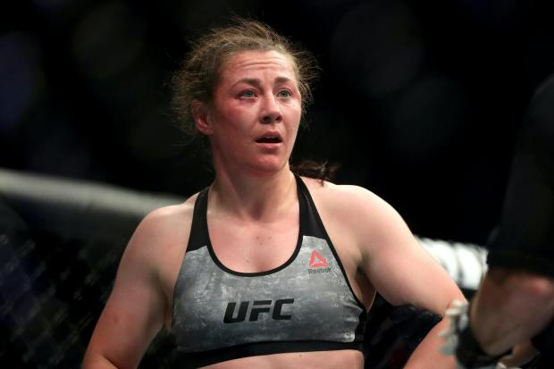 Molly McCann has won 10 of her 12 mixed martial arts contests (Martin Rickett/PA)
