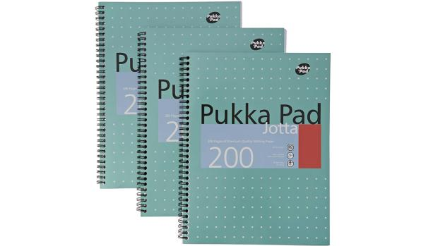Craven Herald: A notebook for every subject Credit: Pukka Pad