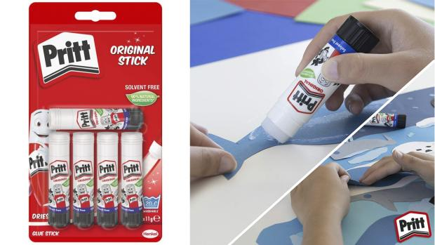 Craven Herald: Don't worry. These glue sticks are washable. Credit: Pritt