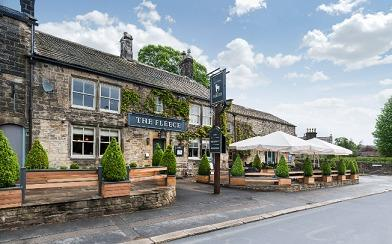 The Fleece in Addingham which is on the market along with nine other former Seafood Pub company pubs