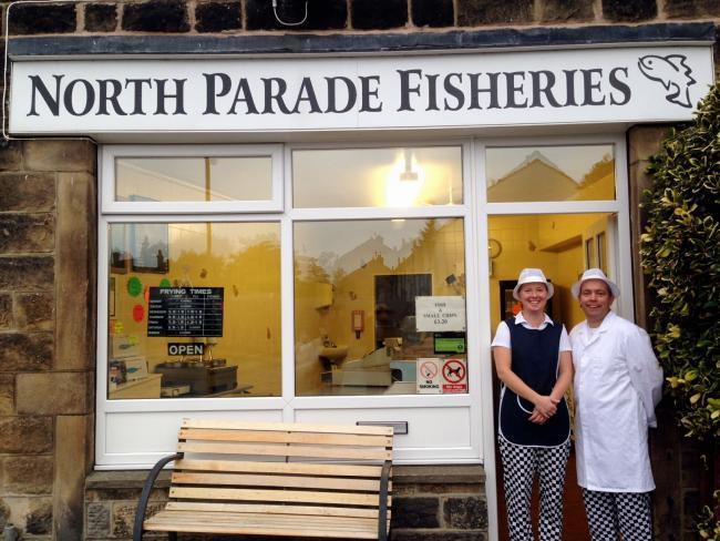 North Parade Fisheries, Hayley and Jonathan Hunt