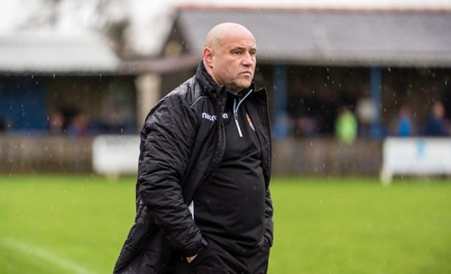 Barnoldswick boss Andy Clarkson wasn't convinced with the performance. Picture: Pete Naylor